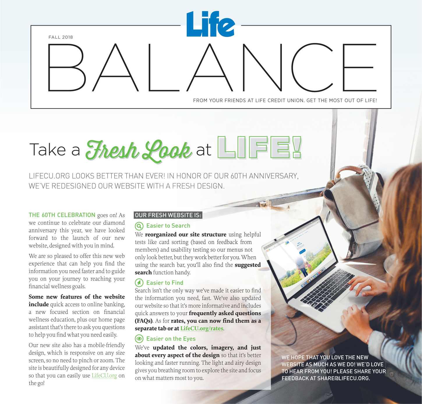 The Fall issue of Life Balance Magazine is now available.